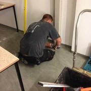 Bauarbeiten bei den Slotfreunden Berlin - es geht voran
