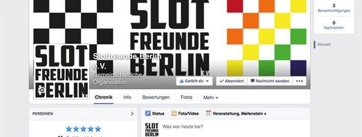 Slotfreunde Berlin auf Facebook