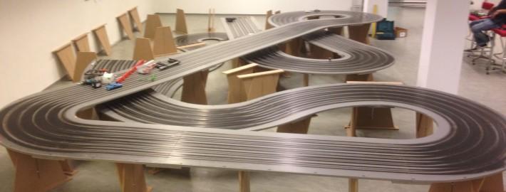 """Die """"Queen Lui"""" - unsere 40 Meter lange Holzbahn"""
