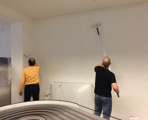 Arbeiten im Vereinsheim